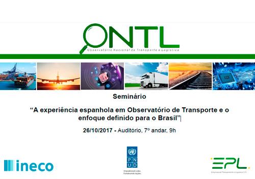 A experiência espanhola em Observatório de Transporte e o enfoque definido para o Brasil