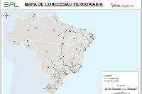 Mapa de Ferrovias