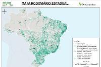 Mapa de Rodovias Estaduais