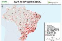 Mapa de Rodovias Federais